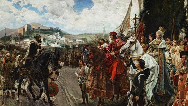 Historia de la Alhambra: Rendición de Granada